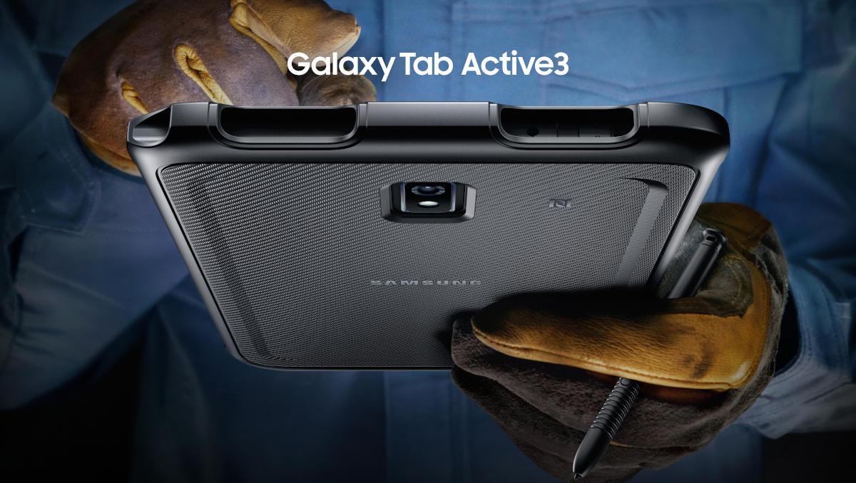 Samsung Galaxy Tab Active3: nowy, wzmocniony tablet do zadań specjalnych