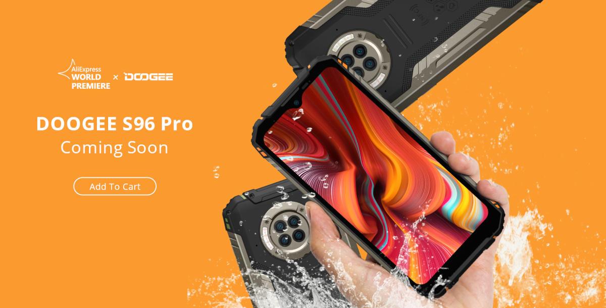 DOOGEE S96 Pro – ledwo pokazali, już wszedł do sprzedaży. Ma gamingowy procesor i noktowizyjny aparat