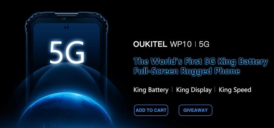 """""""Pierwszy pancerny smartfon 5G"""". Jednak Oukitel wyprzedził wszystkich? Oto WP10…"""
