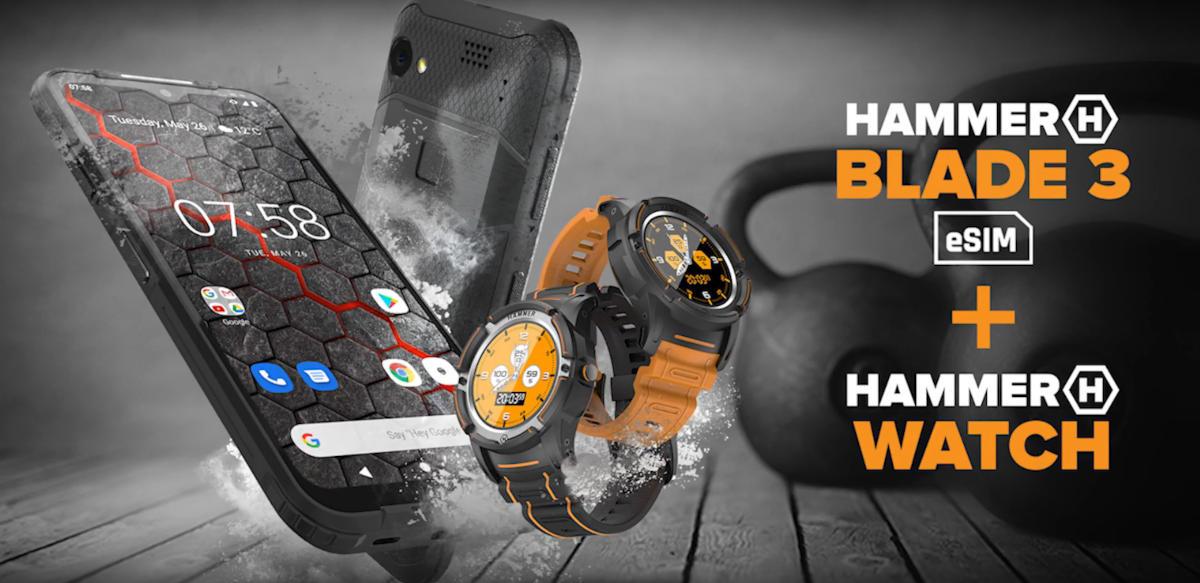 Debiutuje HAMMER watch – wzmocniony smart zegarek z GPS