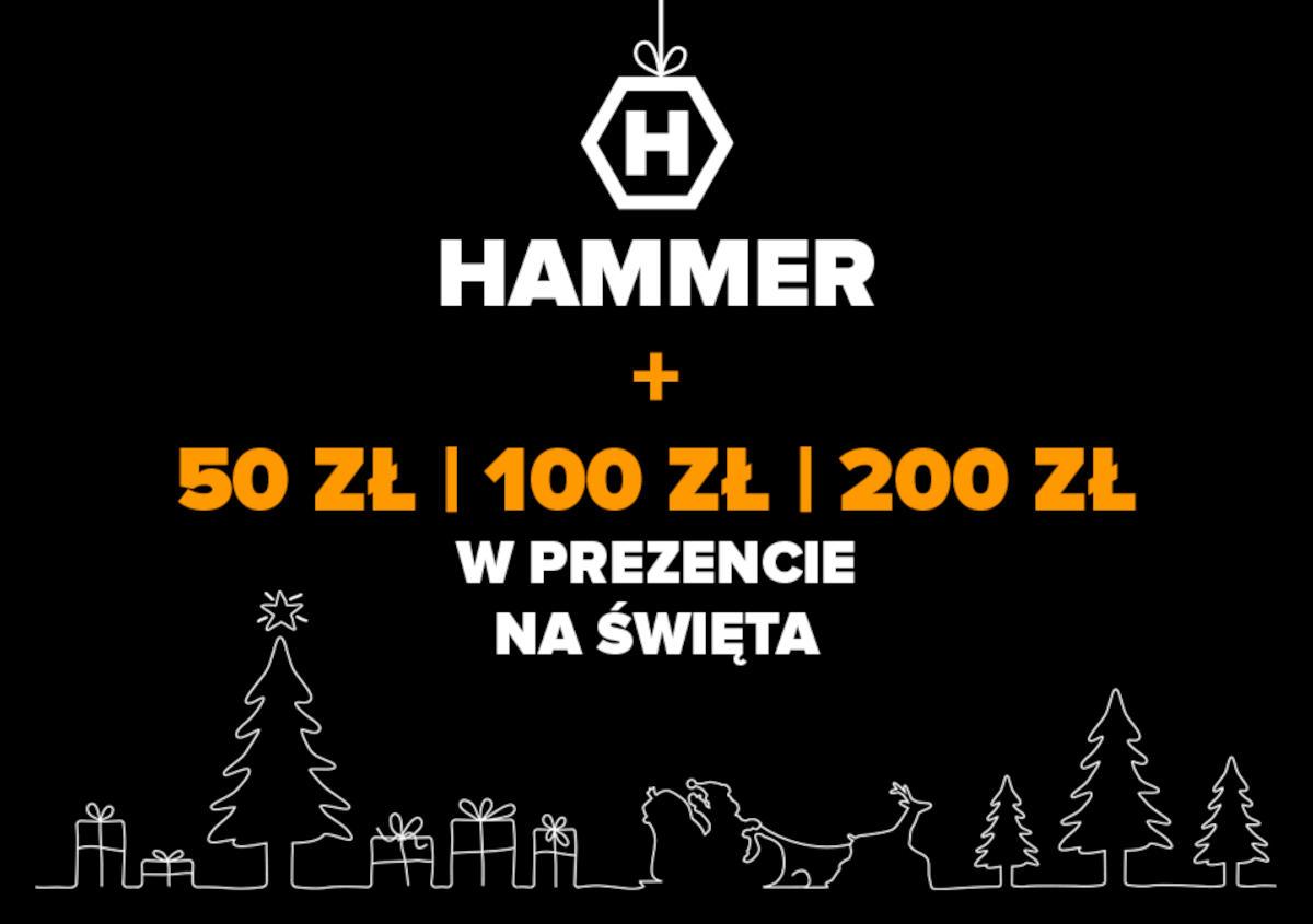 Hammer zorganizował promocję na swoje pancerniki Blade 3 i Explorer Pro. Przy zakupie karta kartę przedpłacona Sodexo gratis