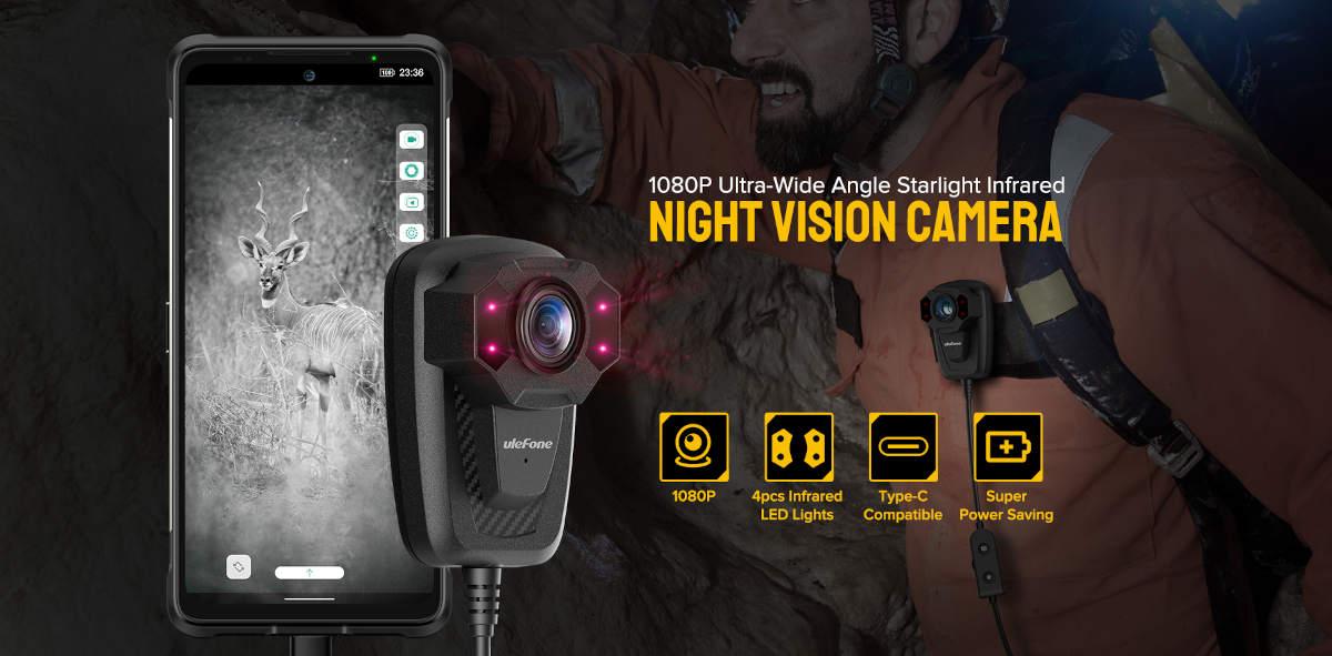 Ulefone wprowadza dodatkowy gadżet do swoich telefonów: kamerę nocną IR