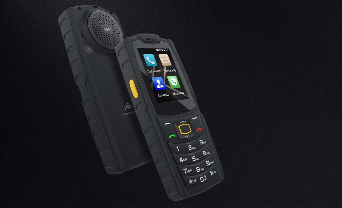 AGM M7 – klasyk z Androidem, LTE i wielkim głośnikiem
