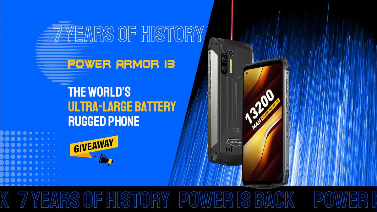 Ulefone Power Armor 13 – mocarz z baterią 13 200 mAh